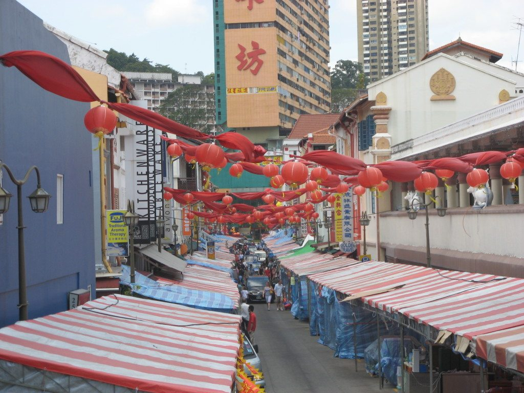 Singapore Little China Town by www.contentedtraveller.com