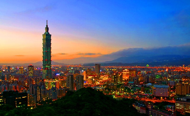 a weekend warrior in Taipei