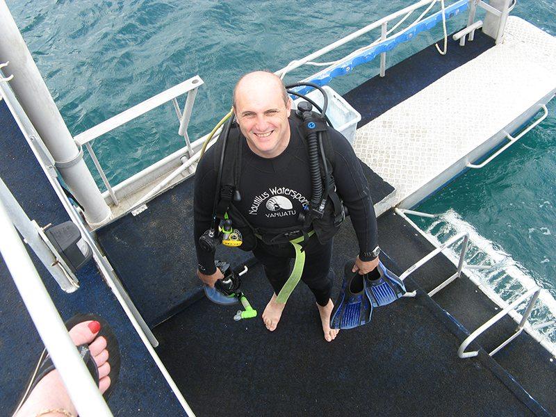 short holidays and getaways Vanuatu diving
