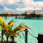 Paradise in the Bora Bora Island of French Polynesia