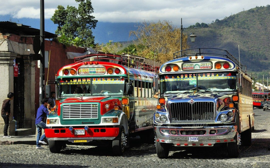 Exploring Antigua in Guatemala
