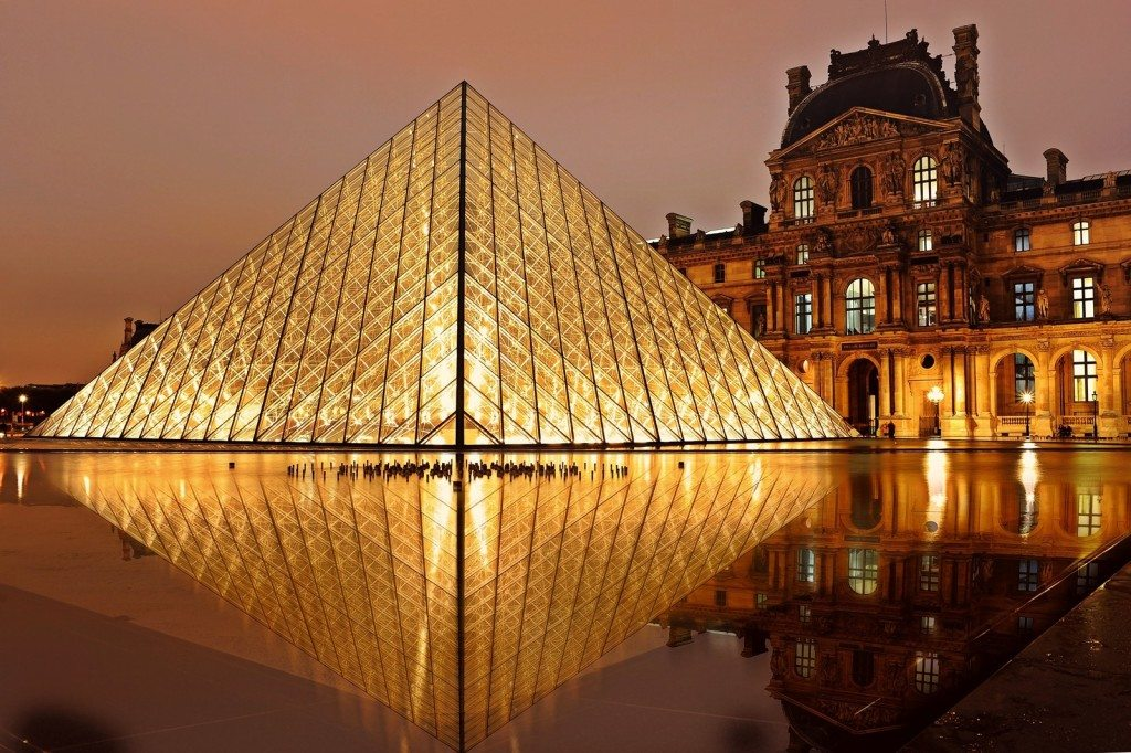 exploring the Louvre has to be  one of the things you do in Paris