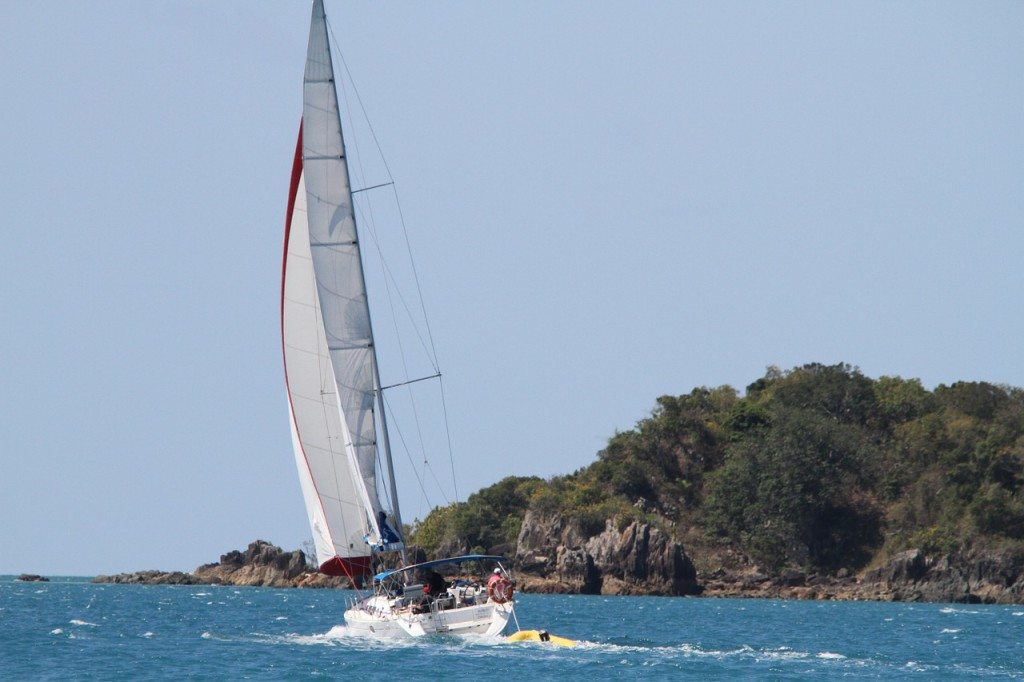 Sailing In The Whitsundays in Queensland Australia