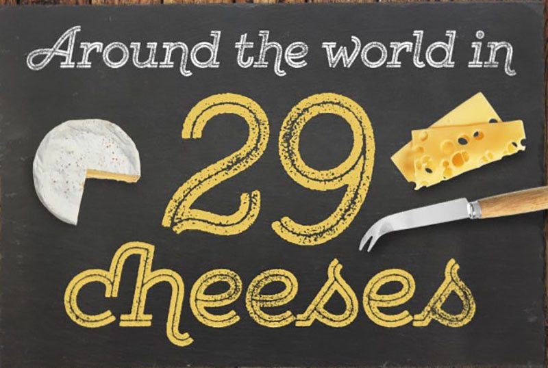 29 Cheeses from Around the World