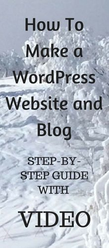 how-to-make-a-wordpress-website-and-blog