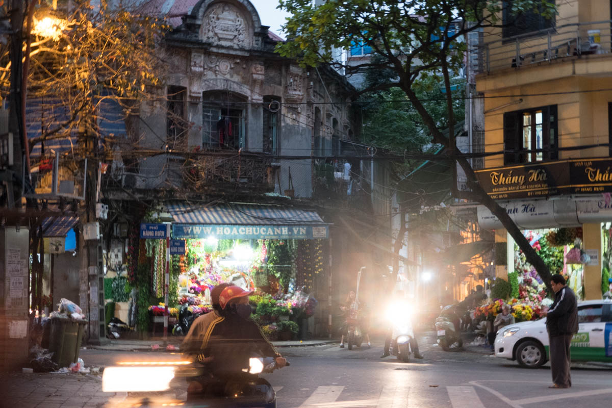 Exploring the Old Quarter of Hanoi
