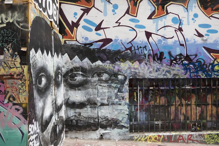 street art and How to get around Melbourne