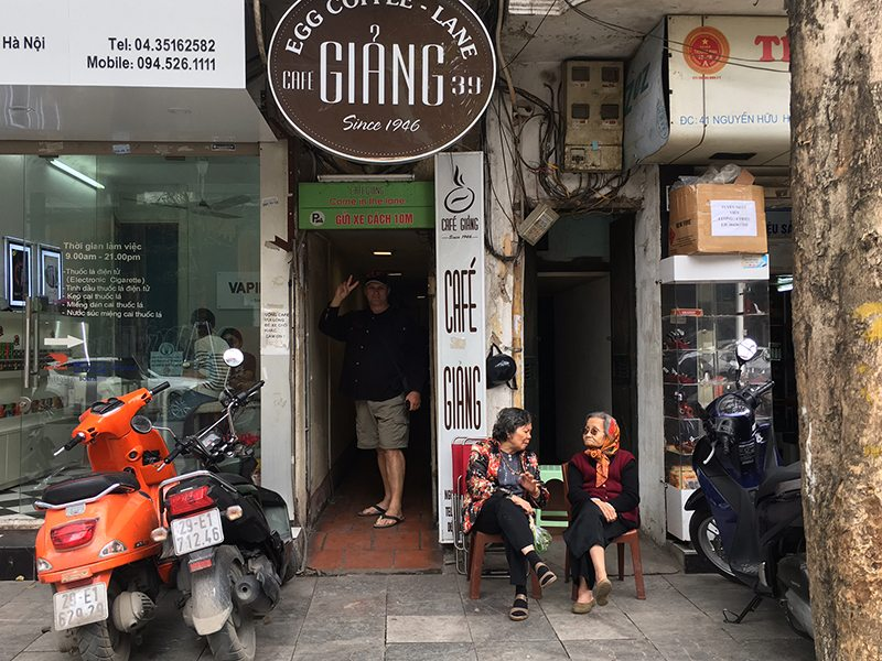 You Have to try Egg Coffee in Hanoi, Vietnam