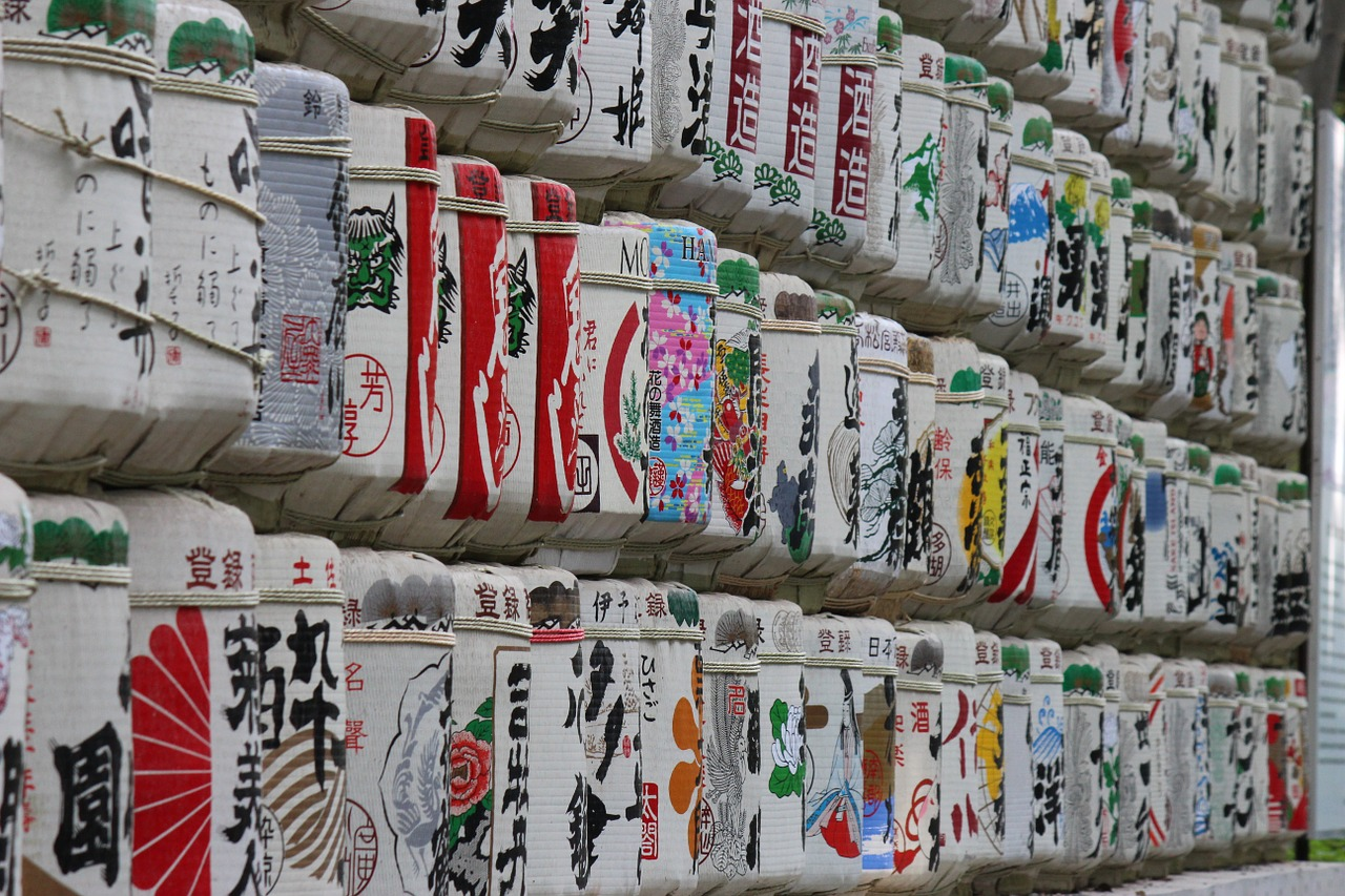 all you can Drink Sake Tour in Toky